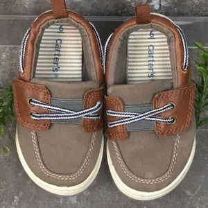 🎈4/$20 CARTERS Boys Slip On Deck Shoes